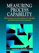 Measuring Process Capability