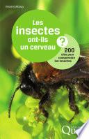 Les insectes ont ils un cerveau