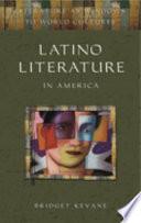 Latino Literature In America book
