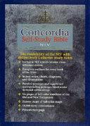 Concordia Self-Study Bible-NIV