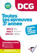 Dcg Toutes Les Preuves De 3 Ann E Du Dcg 3 7 11 Sujets Et Exos
