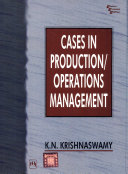 Cases in Production/Operations Management