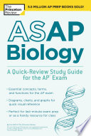 ASAP Biology  A Quick Review Study Guide for the AP Exam
