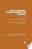 The Economic Development of Jordan (RLE Economy of Middle East)