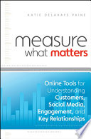 Book Measure What Matters