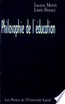 Philosophie de L   ducation