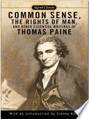 Common Sense  The Rights of Man and Other Essential Writings of ThomasPaine