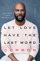Let Love Have the Last Word Book