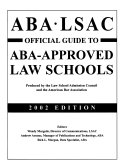 Official Guide to ABA-approved Law Schools