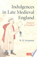 Indulgences in Late Medieval England
