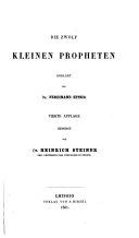 Die zwölf kleinen Propheten