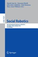download ebook social robotics pdf epub