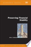 Preserving Financial Stability  EPub