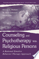 Counseling And Psychotherapy With Religious Persons