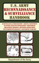 U S  Army Reconnaissance   Surveillance Handbook