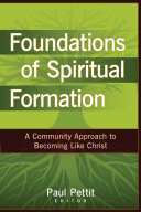 Foundations of Spiritual Formation Book