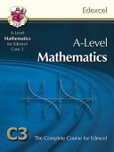 AS a Level Maths for Edexcel   Core 3