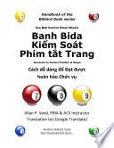 CBC Banh Bida Kiểm Soát Phím tắt Trang (Vietnamese)