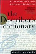 The Describer s Dictionary