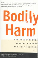 Bodily Harm And Teenagers Still Widely Misunderstood By The Medical