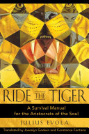 Ride the Tiger Of The Human Being Who