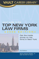 Vault Guide to the Top New York Law Firms