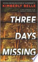 Three Days Missing Book PDF