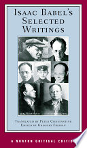 Isaac Babel s Selected Writings  Norton Critical Editions