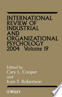 International Review of Industrial and Organizational Psychology  2004