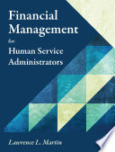Financial Management For Human Service Administrators book