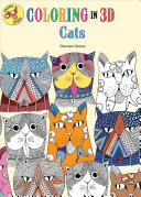 Coloring In 3D Cats : hannah davies gives you pages...