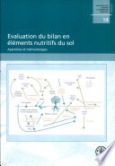 Evaluation du bilan en elements nutritifs du sol  Approches et methodologies