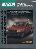 Mazda Trucks  1972 86