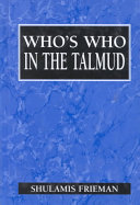 Who s who in the Talmud