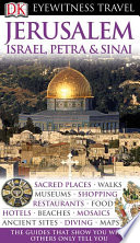 DK Eyewitness Travel Guide  Jerusalem  Israel  Petra   Sinai