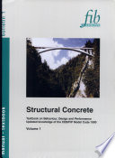 Structural Concrete Textbook Vol 1 First Edition