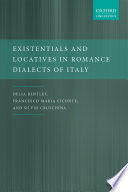 Existentials and Locatives in Romance Dialects of Italy