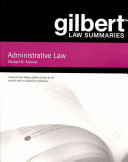 Gilbert Law Summaries on Administrative Law