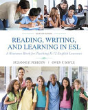 Reading, Writing and Learning in ESL Not Include Access To The Enhanced