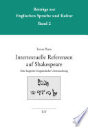 Intertextuelle Referenzen auf Shakespeare