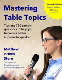 Mastering Table Topics   Second Edition