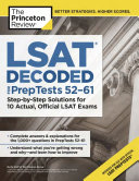 LSAT Decoded (PrepTests 52-61)