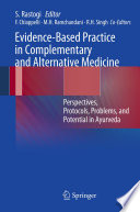 Evidence Based Practice In Complementary And Alternative Medicine