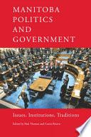 Manitoba Politics and Government