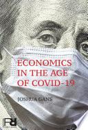 Economics in the Age of COVID 19 Book PDF