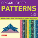 Origami Paper   Patterns   Small 6 3 4    49 Sheets