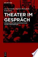Theater im Gespräch