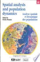 Analyse Spatiale Et Dynamique Des Populations