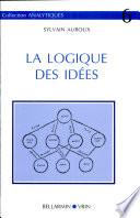 La logique des idées