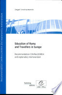 Education of Roma and Travellers in Europe